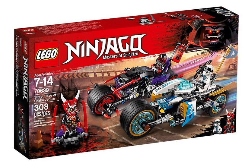 LEGO Ninjago -La Course de Rues à Motos - Zane Contre Monsieur E - 70639