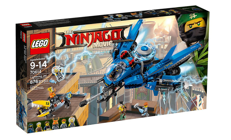LEGO Ninjago - Le Jet supersonique de Foudre - 70614