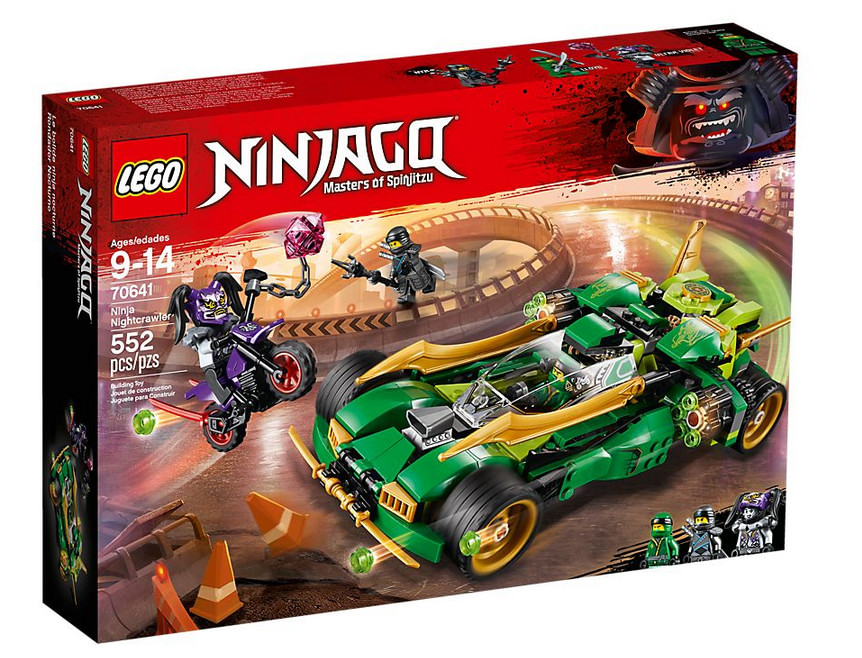 Photo du set de LEGO Ninjago - Le bolide de Lloyd - 70641