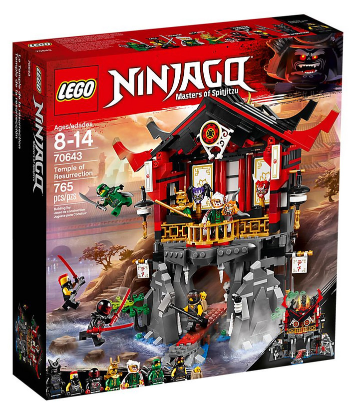 photo du set LEGO Ninjago - Le temple de la Renaissance - 70643