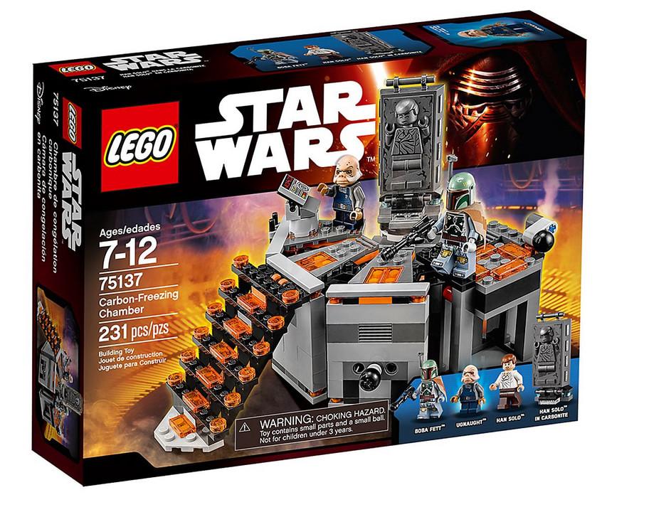 LEGO Star Wars Chambre de congélation carbonique 75137