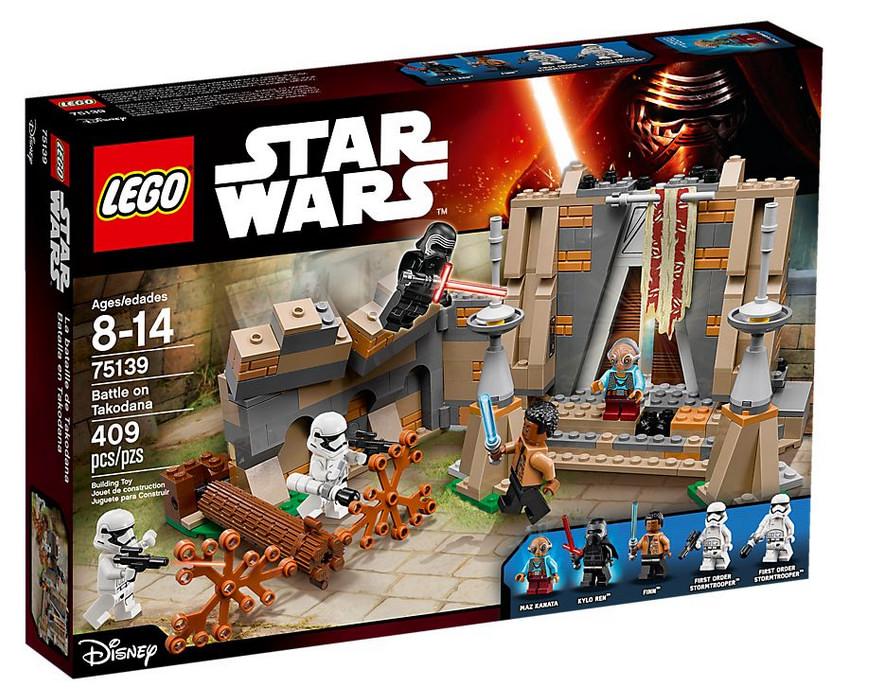 LEGO Star Wars La bataille de Takodana 75139