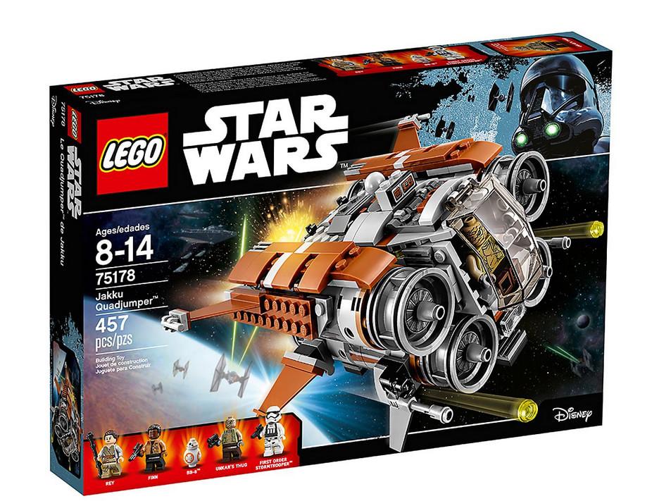 photo du set LEGO Star Wars - Le Quadjumper de Jakku – 75178