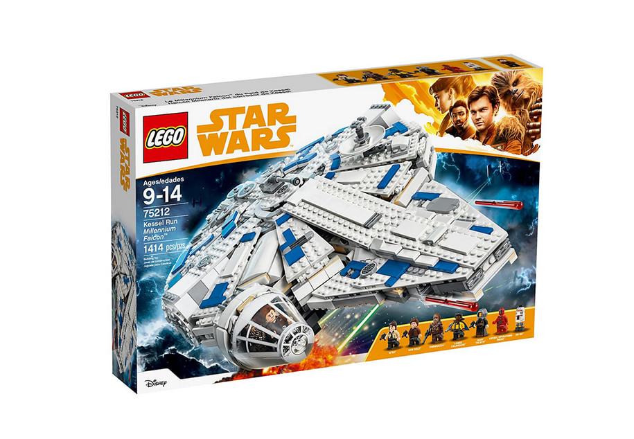 photo montrant le set de lego star wars LEGO Star Wars Solo: A Star Wars Story Kessel Run Millennium Falcon