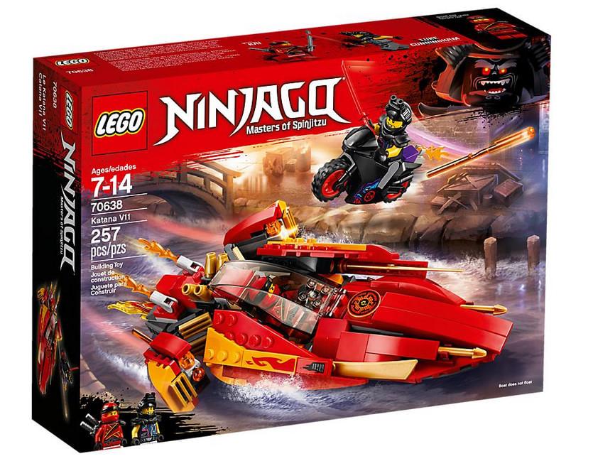 Set LEGO Ninjago - Le Bateau Katana V11 - 70638