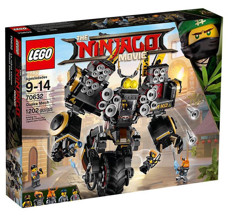Set LEGO Ninjago - Le Robot Sismique (Quake Mech) - 70632