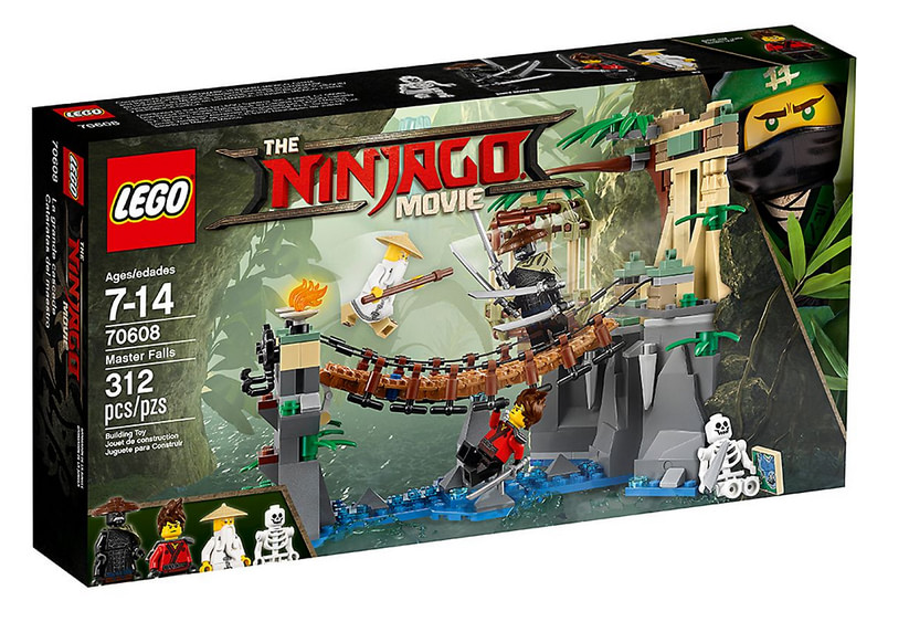 photo du set LEGO Ninjago - Le pont de la jungle - 70608