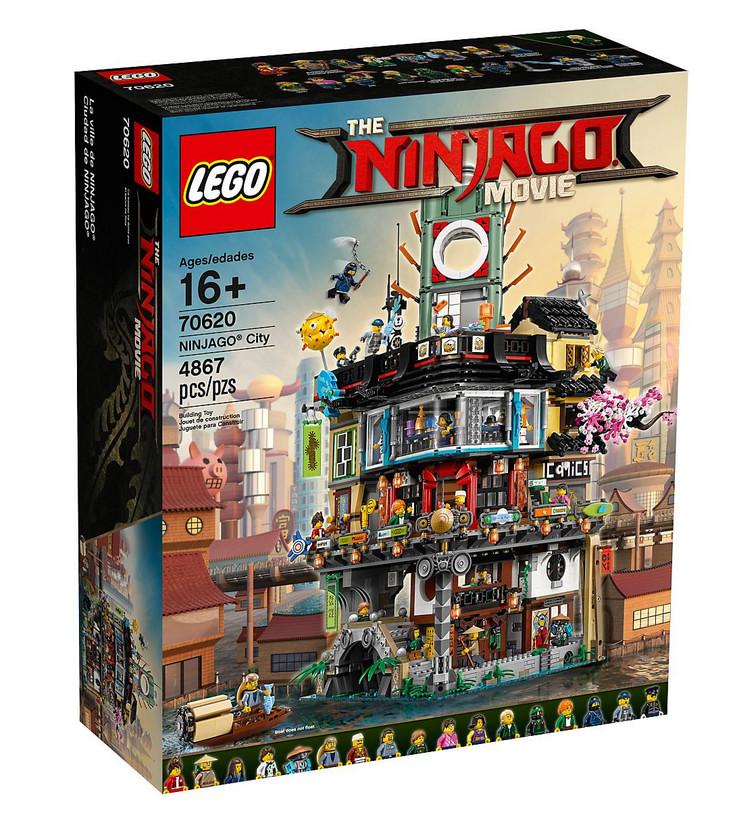 Set LEGO Ninjago Les quais de la Ville - 70657
