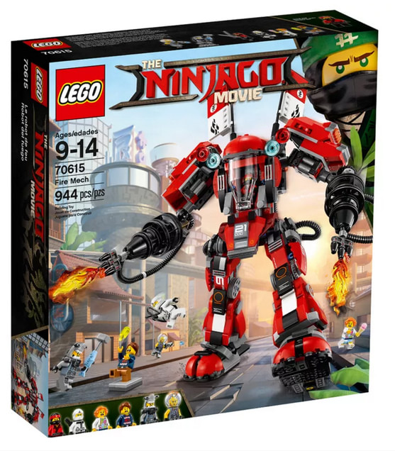 PHOTO DU Set Lego Ninjago - Movie Fire Mech - 70615