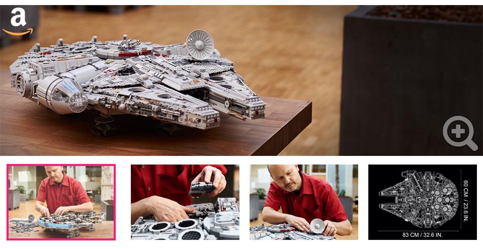Galerie Photo Lego Star Wars Millenium Falcon