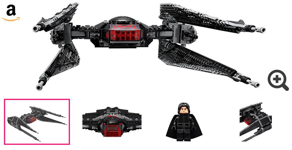 galerie photo set Lego Star Wars