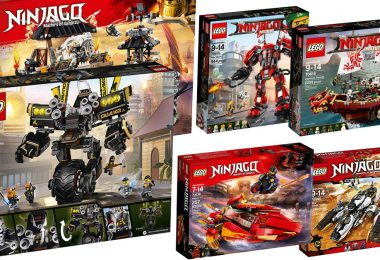 illustration de notre guide des meilleurs sets LEGO ninjago