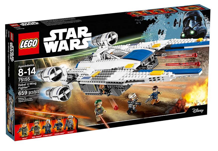 photo du set LEGO Star Wars Rebel U-Wing Fighter
