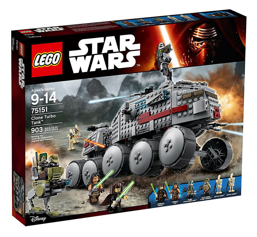 photo du set lego star wars turbo tank