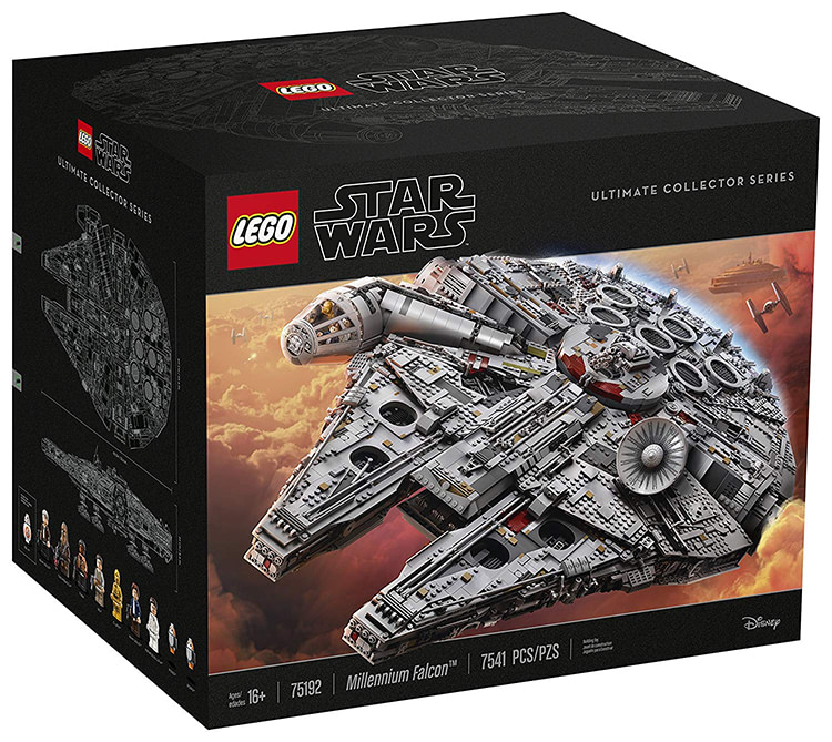 millenium falcon ultimate collector series LEGO Star Wars