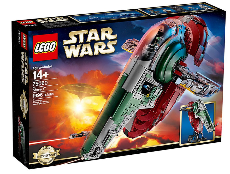 photo du set lego star wars slave i 75060
