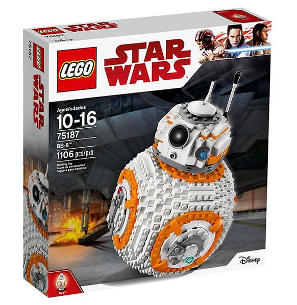 Photo du set de Lego Star Wars du droid BB8