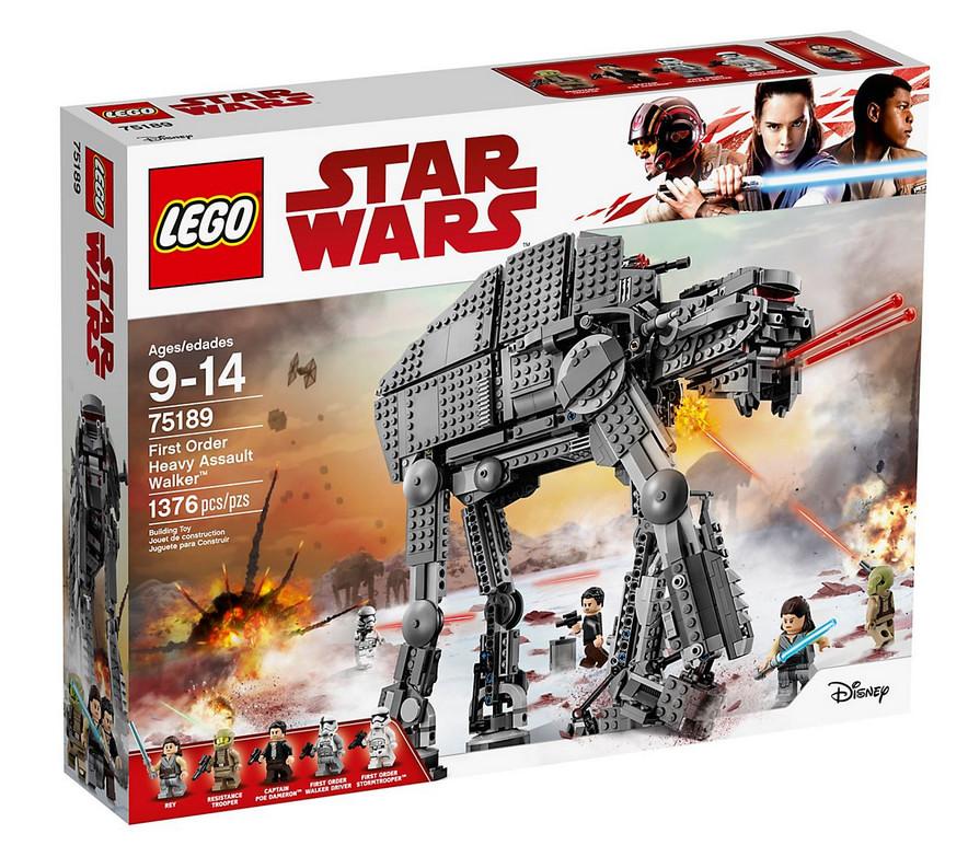 photo du set lego star wars heavy walker 75189