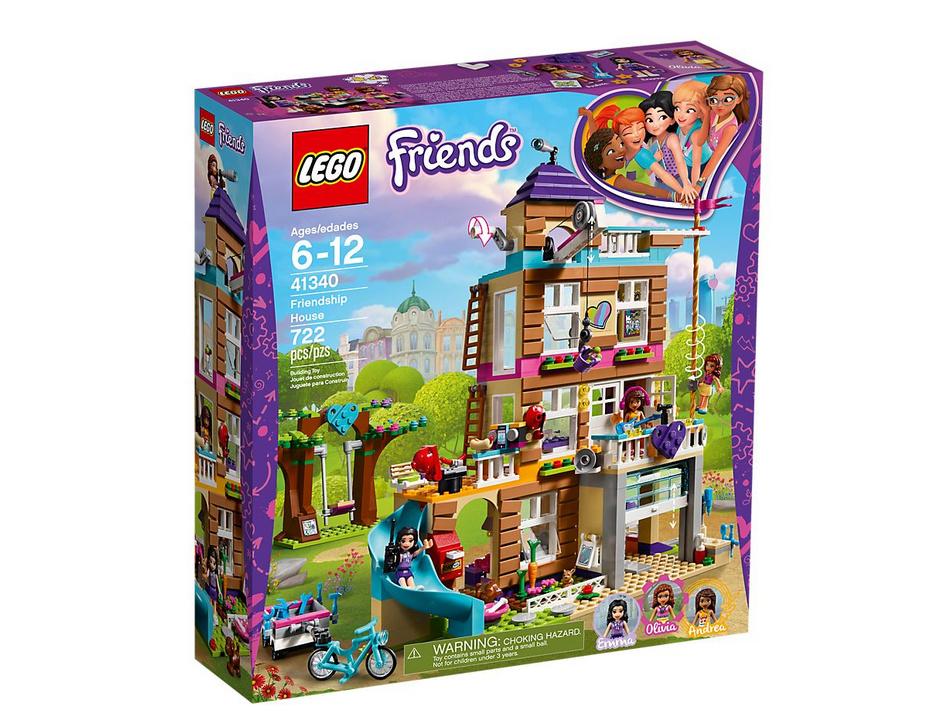 photo du set lego friends la masion de l'amitié