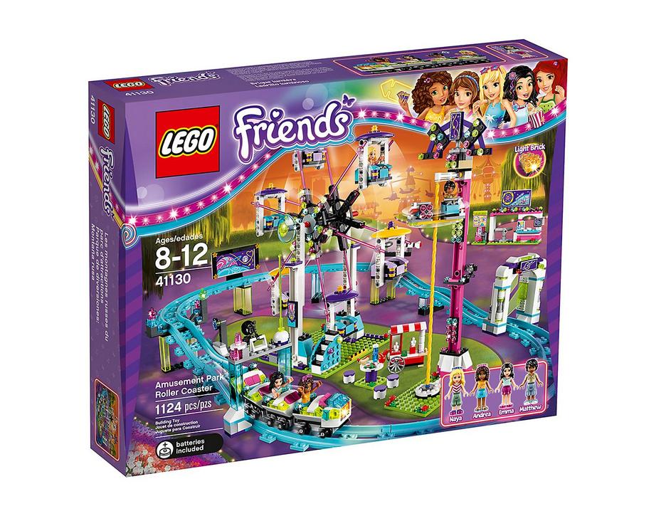 photo du set lego friends parc d'attraction