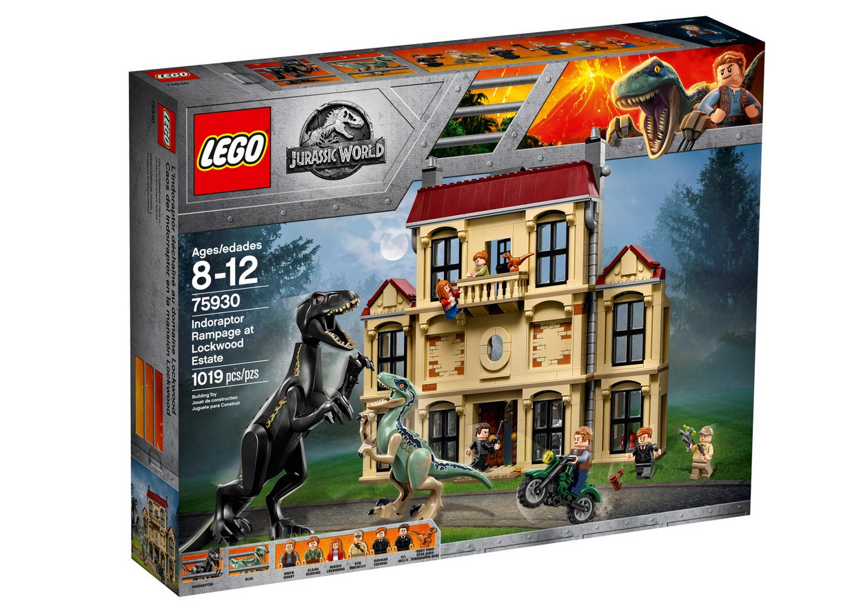 Lego jurassic world 75930