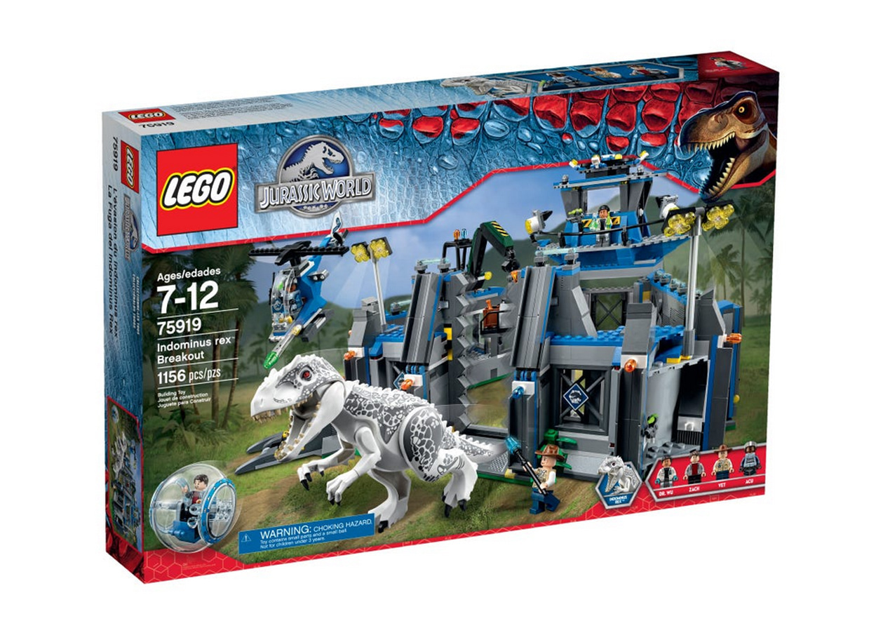 photo du set lego jurassic world L'évasion d'Indominus Rex