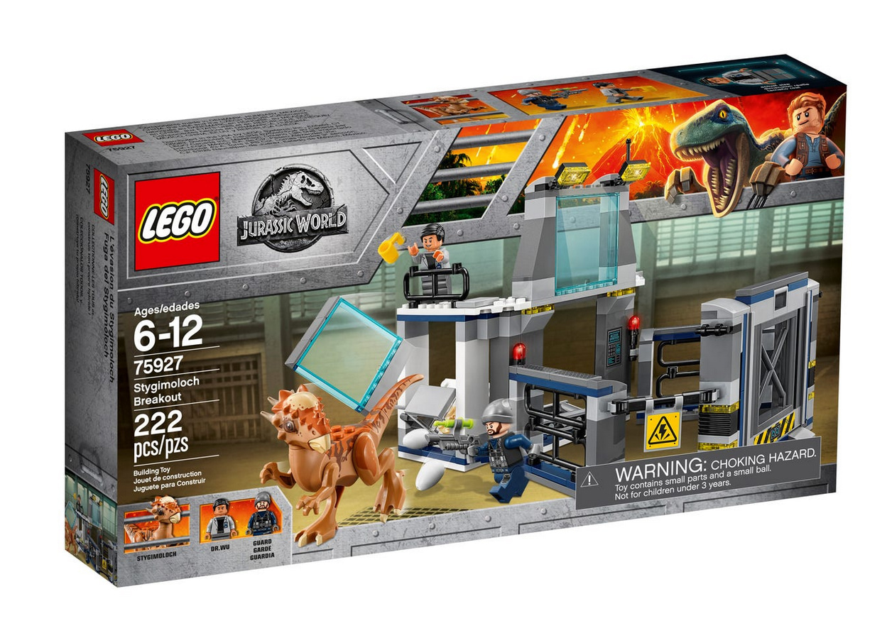 lego jurassic park world 75927